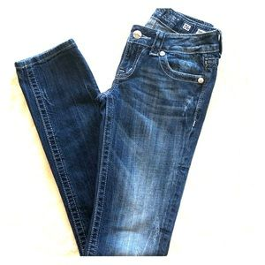 Miss Me JE1044TX straight leg cut jeans